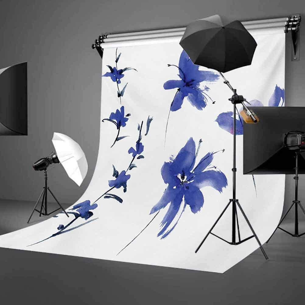 Watercolor 6.5x10 FT Backdrop Photographers,Fall Season Inspired Leaf Designs Nature Inspired Foliage Abstract Arrangement Background for Baby Birthday Party Wedding Vinyl Studio Props Photography
