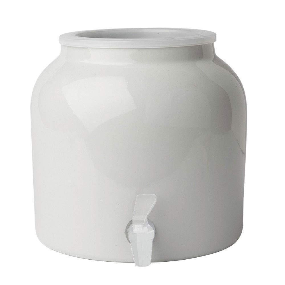 New Wave Enviro Porcelain Water Dispenser WHITE, 2.5-Gallon(single) by New Wave Enviro