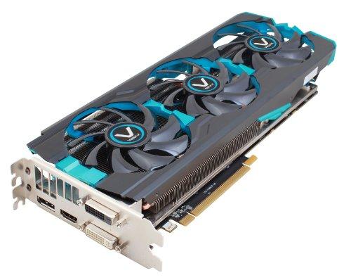 Sapphire Radeon Vapor-X R9 280X 3 GB GDDR5 DVI-I/DVI-D/HDMI/DP TRI-X with Boost PCI-Express Graphics Card 11221-20-20G (R9 280x Video Card)