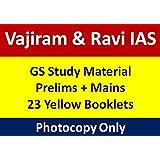 VAJIRAM & RAVI IAS Full set study material for IAS Exam (Latest 2018)(23 Booklets)