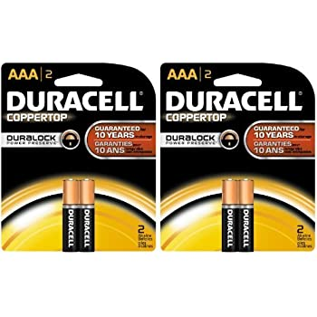 Amazon.com: Duracell Coppertop AAA Batteries, 2ct, 2pk