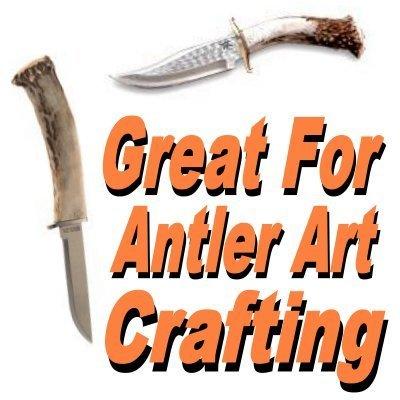 Antler Repair Kit - Antler Sculpt Do-It-Yourself Kit (12 oz.) Antler Art - Cir-Cut Corporation - Restore Your Trophy To Its Original Glory ! Deer - Elk - Claws - Teeth - Horns - Antlers