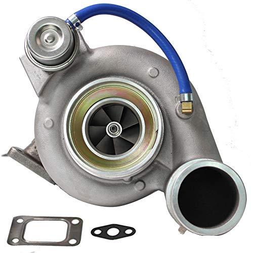 HE351CW HY35W Turbocharger for 2004.5-2007 Dodge Ram 5.9L Diesel Cummins Turbo V Band Flange with Internal Wastegate Up to 400+ BHP 4036835, 4043600