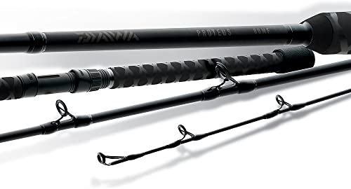 Okuma s Tournament Quality Bass Fishing Rods-EVX-C-751Ha Black, 7-Feet 5-Inch