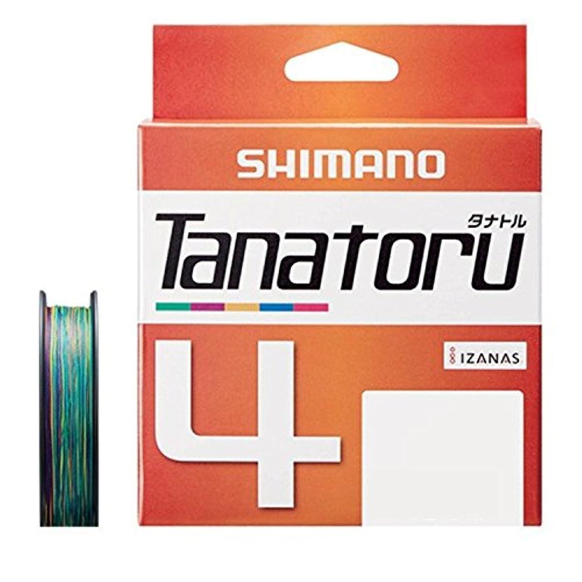 [해외] 시마노 PE라인 다나토루 4개 뜨기 300M 멀티 컬러 PL-F74R