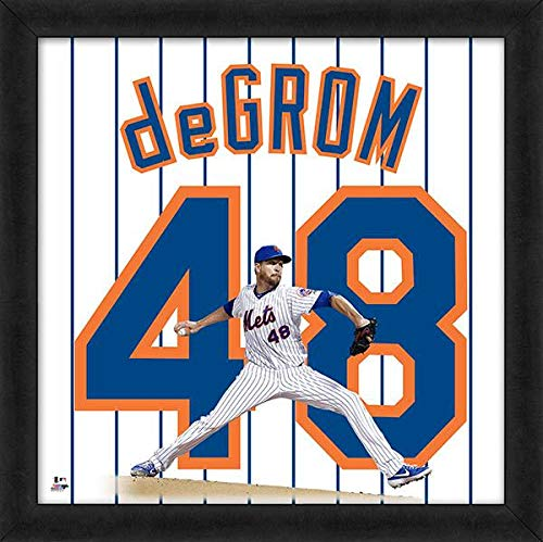 Jacob deGrom New York Mets UniFrame Photo (Size: 20