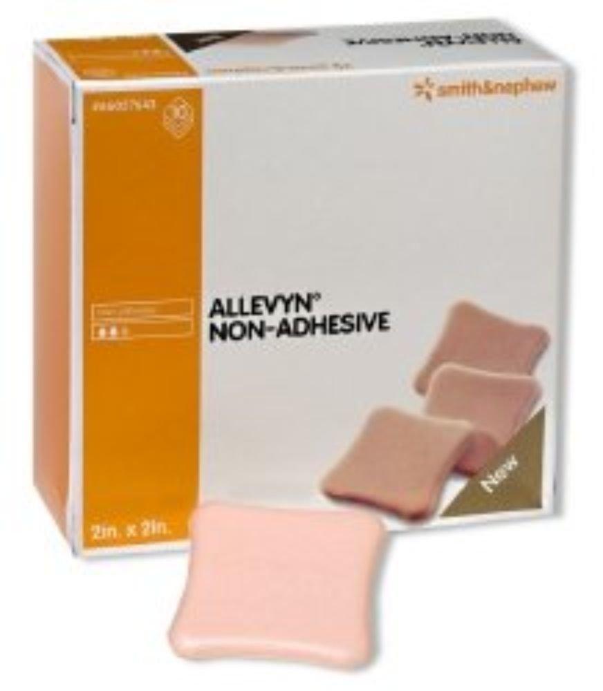 Smith & Nephew Foam Dressing Allevyn 2 X 2'' Square Non-Adhesive Sterile (#66027643, Sold Per Case)