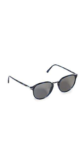 Amazon.com: Persol PO3166S - Gafas de sol para hombre, Azul ...