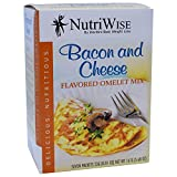NutriWise – Bacon & Cheese Diet Omelet (7/Box) For Sale
