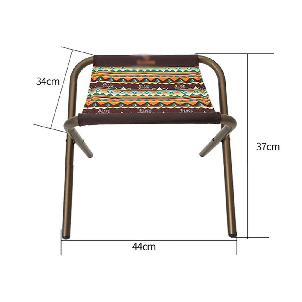 Camping La Tabouret Hwt's Pliant Pour Chair Air De En Plein Folding fy76gb