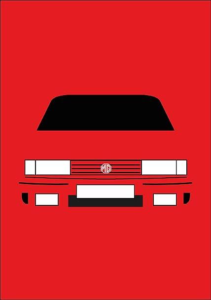 MG Maestro Turbo - Tarjeta de felicitación Retro Motor ...