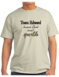 Team Edward Because Jacob Doe Light T-Shirt - 100% Cotton T-Shirt
