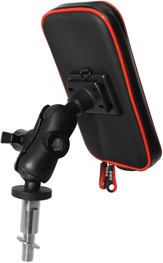 BarBaren Motorcycle Phone Holder Maganetic Phone Mount for Kawasaki Ninja650 Ninja1000 GTR1400 Ninja H2SX Z1000SX 11-20