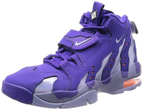 Nike AIR DT MAX 96 Mens Basketball Shoes Sneakers 316408-500, CRT PURPLE/IRN PRPL-ATMC ORNG, 44 M EU/9 M UK