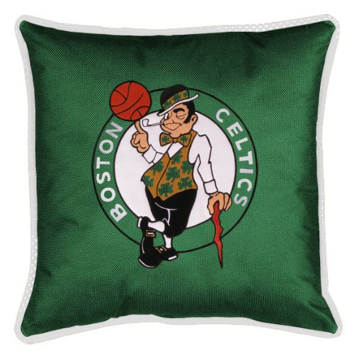 fan products of NBA Boston Celtics Sidelines Toss Pillow