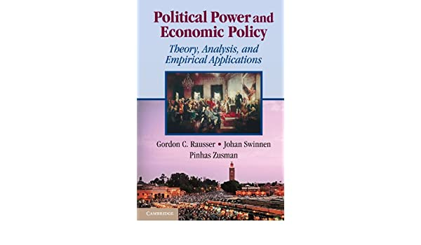 Political power and economic policy: theory analysis and empirical