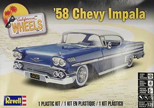 Revell '58 Chevy Impala Plastic Model Kit