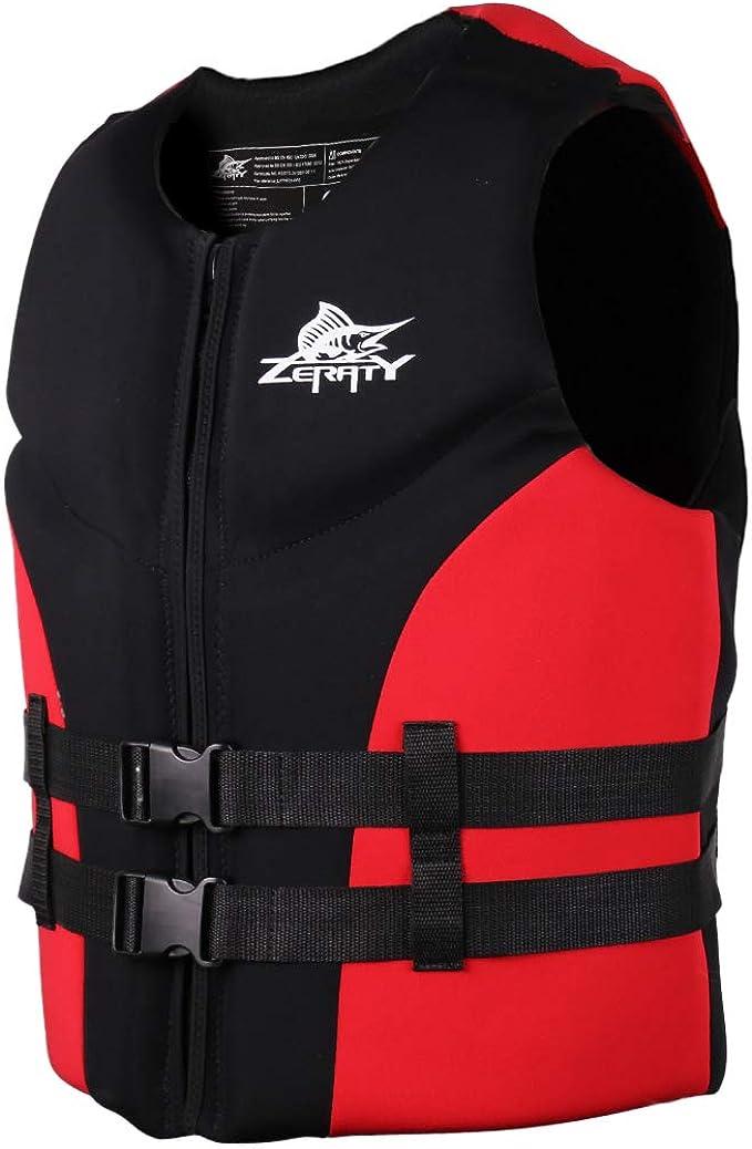 Zeraty Men Life Jacket Impact Vest