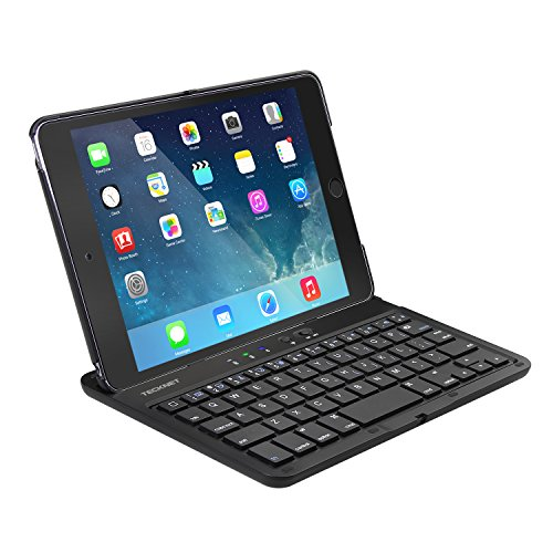iPad Mini 4 keyboard case, TeckNet Folio Integrated Wireless