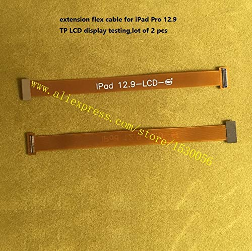 Gimax extension flex cable for iPad Pro 12.9 TP LCD display testing,lot of 2 pcs