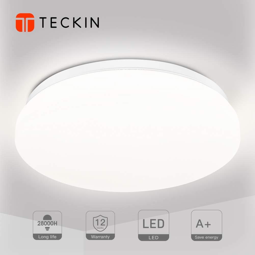 4500k Bedroom Ø Natural Flush White Indoor LampRound Lights Ceiling 33cm Bathroom Kitchen Light 24w Mount For Led Tc3lF1KJ
