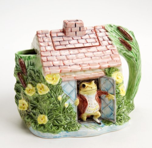 Beatrix Potter Jeremy Fisher Teapot