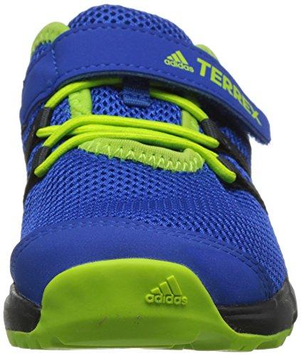 adidas Jungen Kinder Sneaker Terrex CC Voyage Trekking-& Wanderhalbschuhe Blau (Reatea/Cwhite/Sslime)