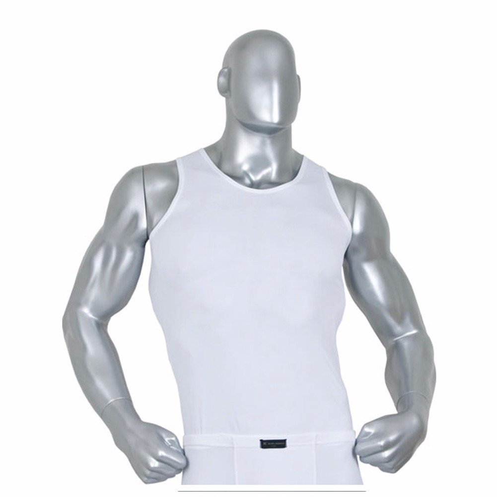 Mens Tank Top Gym Compression Undershirt Base Layer Workout for Crossfit RM Henri maurice