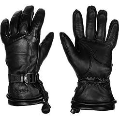 SWANY Women`s Garland Glove, L, BLACK