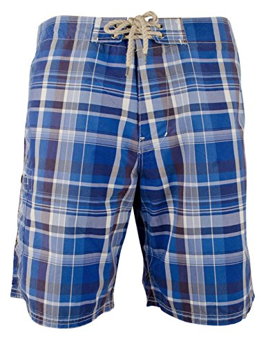 Polo Ralph Lauren Men's Plaid Shelter Island Swim Trunks