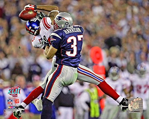 David Tyree Catch - New York Giants David Tyree Makes The Helemt Catch During Super Bowl 42. 8x10 Photo Picture.