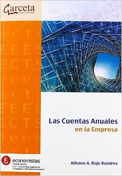 Book Las Cuentas Anuales en la empresa [Jan 26, 2012] Rojo Ramírez, Alfonso A.