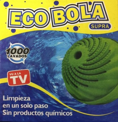 ECO BOLA PARA LAVAR SIN DETERGENTE EN LA LAVADORA: Amazon.es: Hogar