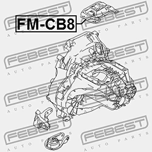 Febest FM-CB8 CUSCINO DEL MOTORE SX