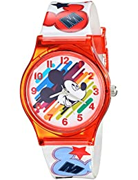 Kids' W001964 Mickey Mouse Analog Red Watch