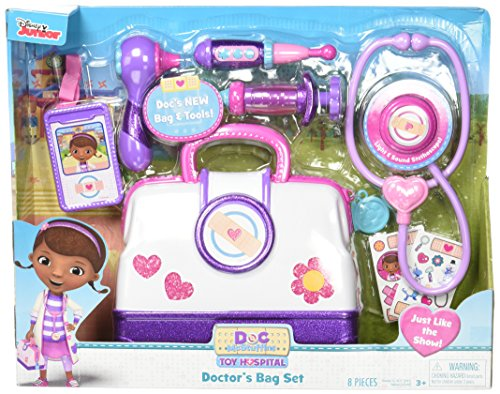 Just Play Doc McStuffins Hospital Doctor's Bag Set (Light Blanket Up)