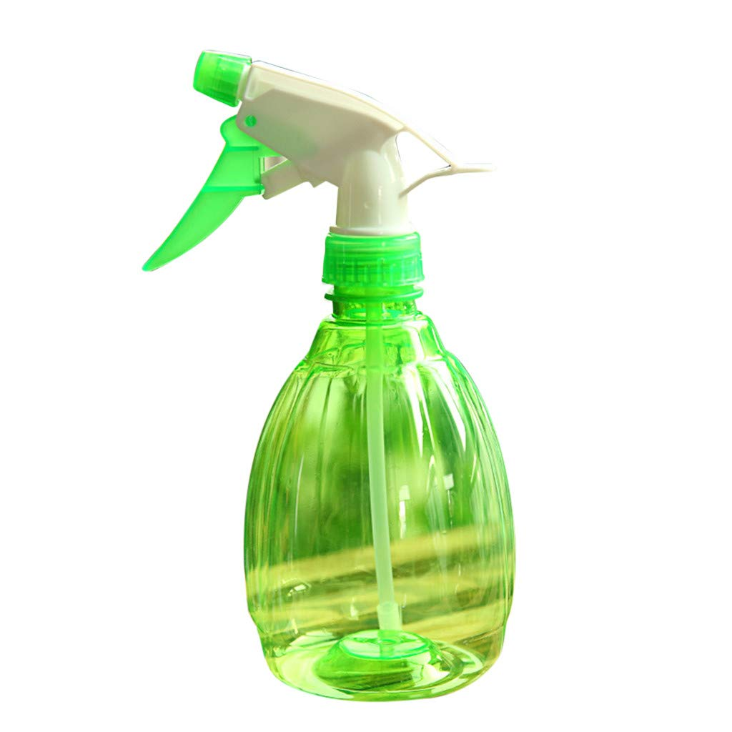 KNDDYY Spray Bottle, Plant Spray Bottles Fully Transparent Trigger Water Plant Atomizer for Flowers Plants Garden (Green)