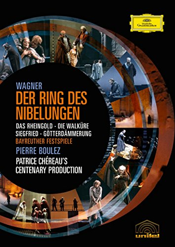 - Wagner: The Ring of the Nibelung ( Das Rheingold / Die Walküre / Siegfried / Götterdämmerung) (Boulez/Chereau Ring Cycle)