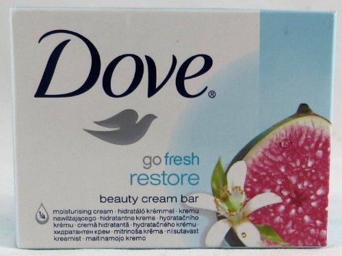 Dove Go Fresh Restore Beauty Bar Soap 4.75 Oz / 135 Gr (Pack of 12)