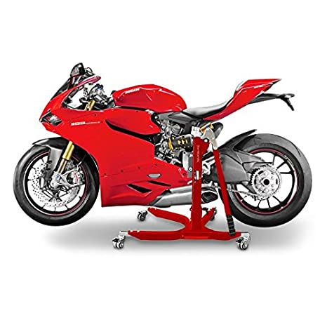 Motorrad Zentralständer ConStands Power Ducati 1299 Panigale 15-17 schwarz matt