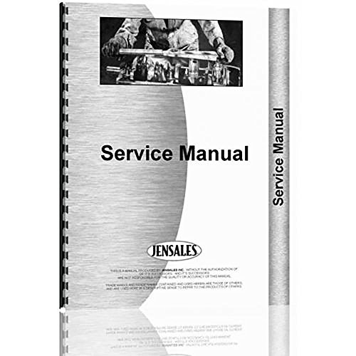 New Oliver F Parts+ Crawler Service Manual