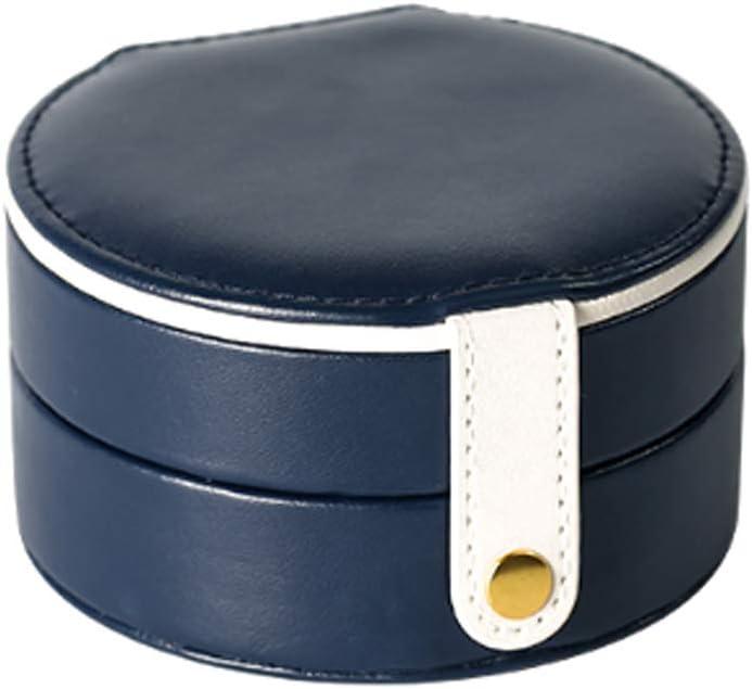 GAOJIE 収納ボックス - ポータブルイヤリング仕上げボックスミニ多機能収納ボックス (色 : 青, 三 : A)