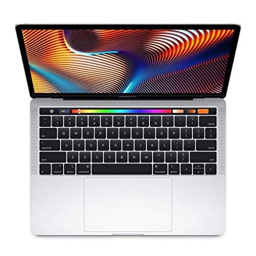 """Apple MacBook Pro MPXV2LL/A 13.3"""", Intel Core i5-7267U 3.1Ghz, 8gb RAM, 512gb SSD, Silver (Renewed)"""