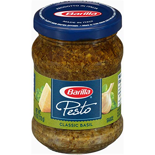Barilla Traditional Basil Pesto Sauce, 6 Ounce, Pack of 4