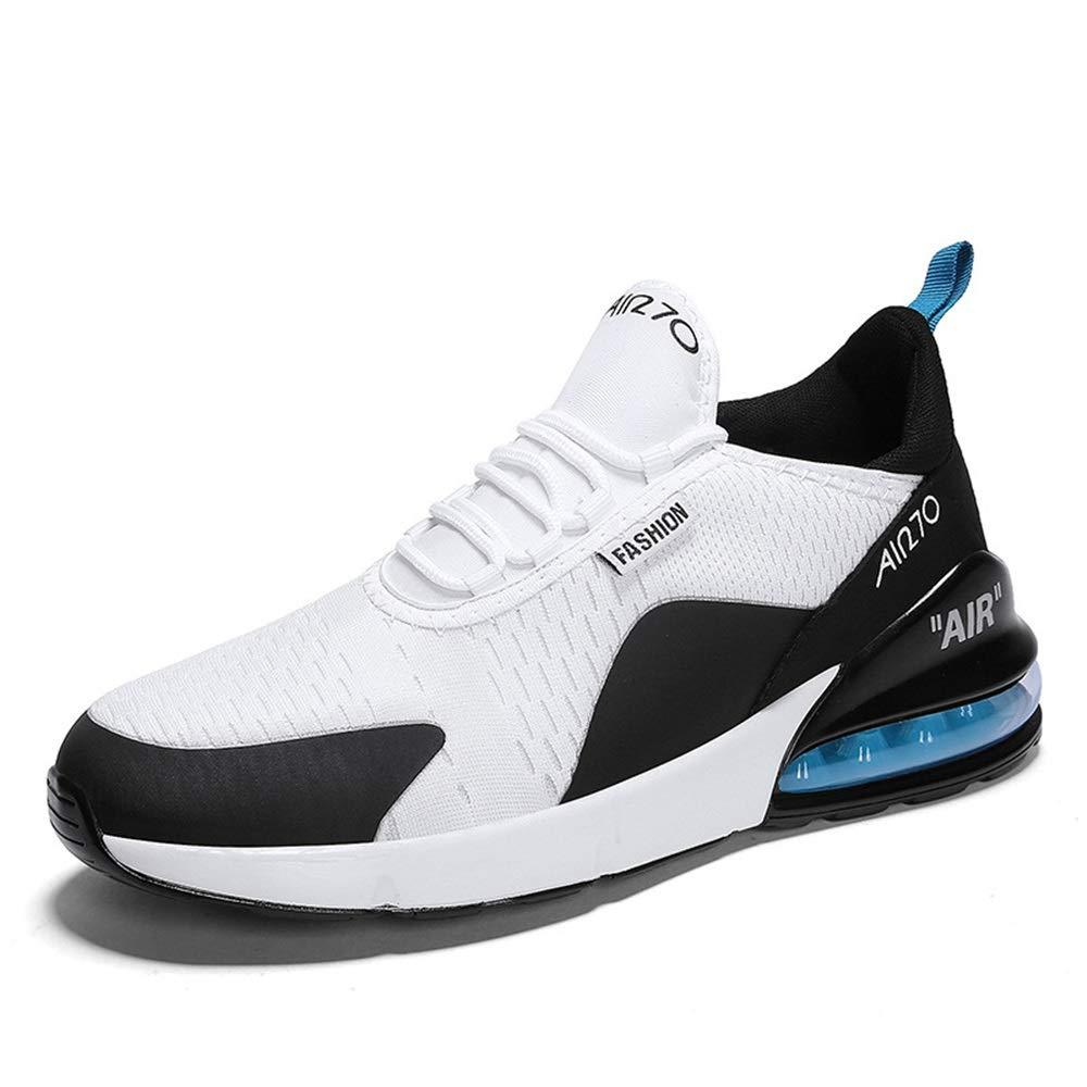 Qiusa Mode Sport Trainer für Männer Soft Soft Soft Sohle Durable Non Slip Comfort Atmungsaktive Schuhe (Farbe   Blau, Größe   EU 43) efcbdd