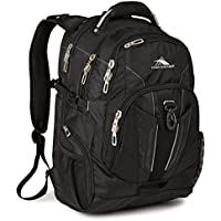 High Sierra BusinessTech Backpack with Padded Laptop Sleeve (Black/ Navy)