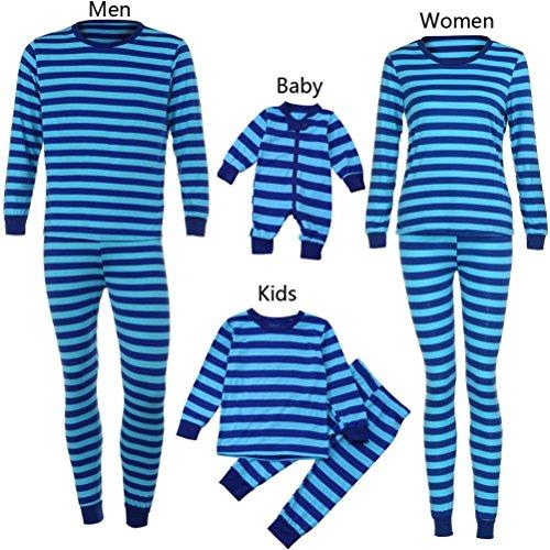 Christmas Family Pajamas Pjs A2 footie