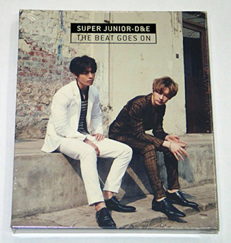 Super Junior D&E DONGHAE & EUNHYUK - The Beat Goes On (CD+Photo Booklet+Folded Poster+Extra Gift Photocards Set)