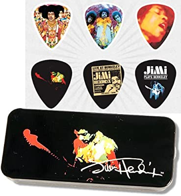 Dunlop Jimi Hendrix Collector Band of Gypsys Caja Púas Heavy ...