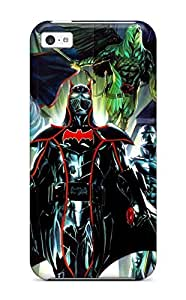 Fashionable Style Case Cover Skin For Iphone 5c- Justice League